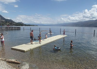 Low Profile Swim Dock | EZ Dock Okanagan