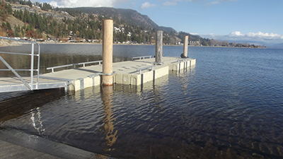 Peachland Boat Launch | EZ Dock Okanagan